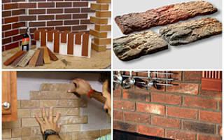 Плитка под кирпич: разновидности и монтаж материала