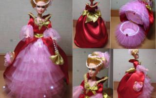 Кукла шкатулка своими руками