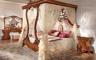 Кровати с балдахином: 20 идей