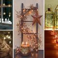 Украшение дома на рождество