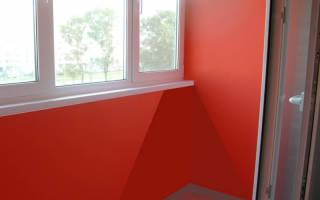 Покраска балкона своими руками (фото)
