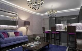 Освещение гостиной: выбираем люстры и светильники