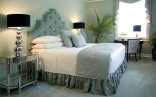 Модные гламурные спальни
