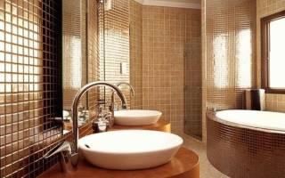 Варианты отделки ванной комнаты: наиболее практичные решения