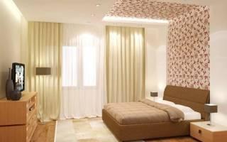 Комбинированные обои в спальню: фото, дизайн, 7 советов по сочетанию