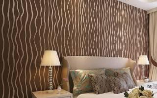 Применение обоев для создания удачного интерьера в спальне