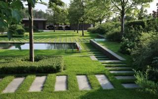 Вода в саду – модный минимализм