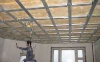 Особенности установки навесных потолков
