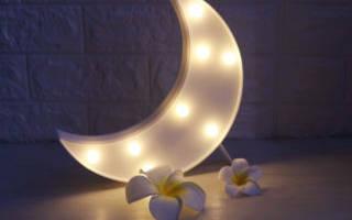Самодельный светильник-ночник из фанеры в детскую