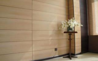 Отделка стен панелями из мдф своими руками