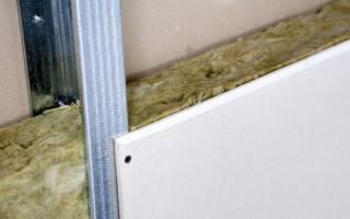 Методы утепления стен гипсокартоном