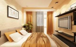 Дизайн спальни 3 на 3