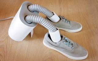 Крутая сушилка для обуви из кулера и гофрированного шланга