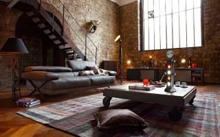 Как оформить балкон и лоджию в стиле лофт