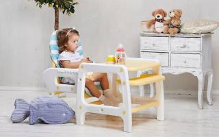 Какой выбрать стульчик для кормления ребенка?