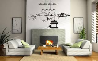 Быстрое обновление интерьера – виниловые наклейки на стены